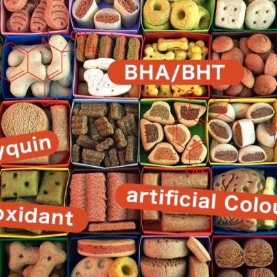 ドッグフードで注意すべき添加物の一覧